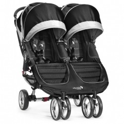 Poussette Double Baby Jogger City Mini Pourpre