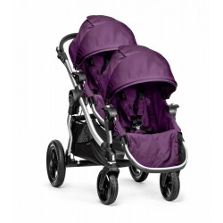 Poussette Double Baby Jogger City Select Noir