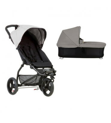 Poussette Mountain Buggy Mini + Nacelle Plus