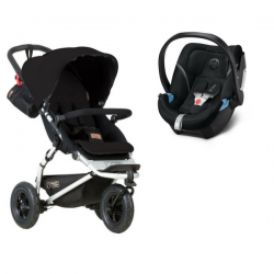 Mountain Buggy Swift + Coque Cybex Aton 5