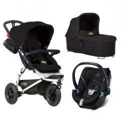 Poussette Mountain Buggy Swift + Nacelle Plus + Coque Aton 5