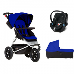 Poussette Mountain Buggy Urban Jungle + Coque Aton 5 + Nacelle Plus - Univers Poussette