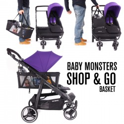 Panier Baby Monsters Shop&Go - Easy Twin Univers Poussette