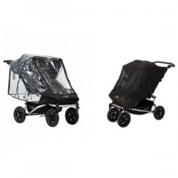 Lot - Protection Pluie + Protection Soleil Mountain Buggy Duet