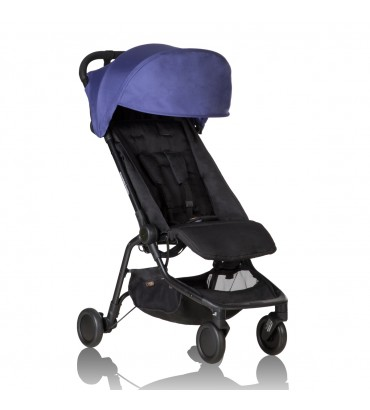 Poussette Mountain Buggy Nano + Sac de transport Univers