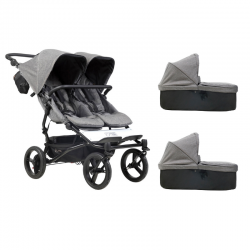 Poussette Mountain Buggy - Duet Luxury Collection + 2 Nacelles
