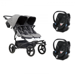Poussette Mountain Buggy - Duet Luxury Collection + 2 Cybex