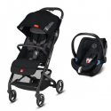 Pack Duo gb Qbit+ All City + Coque Auto 0+ Cybex Aton 5 (2019) - Univers Poussette