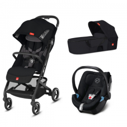 Pack Trio gb Qbit+ All City + Nacelle Cot to Go + Coque Auto 0+ Cybex Aton 5 (2019) - Univers Poussette