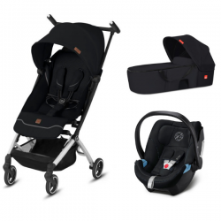 Pack trio gb Pockit+ All City  Nacelle gb - Cot to go + Coque Auto 0+ Cybex Aton 5 (2019) - Univers Poussette