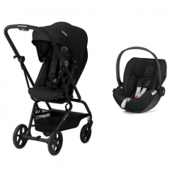 Pack Duo Cybex Eezy S Twist PLUS + Coque Cloud Z (2019) Univers