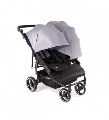 Poussette Baby Monsters - Easy Twin 3S Light (Châssis Noir) +