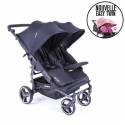 Poussette Double Baby Monsters - Easy Twin 3S Light Univers