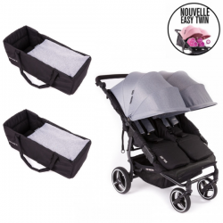 Poussette Double Baby Monsters - Easy Twin 3S Light + 2