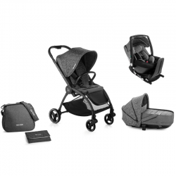 Pack Trio Be Cool Outback + Nacelle Crib + Coque One (2020)