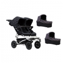 Poussette Double Mountain Buggy Duet V.3 + 2 Nacelles Plus