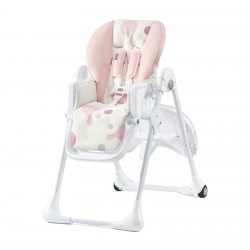 Chaise Haute Multifonctions Kinderkraft YUMMY (2020) - Pink