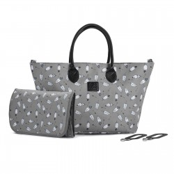 Sac à Langer Kinderkraft Mommy Bag (2020) - Grey
