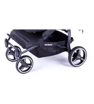 Poussette Baby Monsters - Easy Twin 3S Light - Châssis Noir /