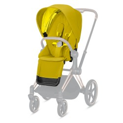 Pack Siège Cybex Priam/ePriam Mustard Yellow (2021) 520000681