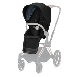 Pack Siège Cybex Priam/ePriam Deep Black (2021) 520000687