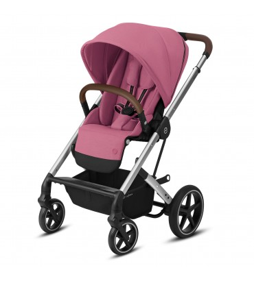 Pack Duo Cybex Balios S Lux - Châssis Silver + Nacelle S -