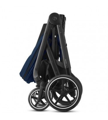 Pack Duo Cybex Balios S Lux - Châssis Silver + Nacelle S - Deep