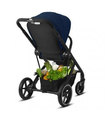Pack Duo Cybex Balios S Lux - Châssis Black + Cocoon S - Navy