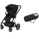 Pack Duo Cybex Balios S Lux - Châssis Black + Cocoon S - Deep