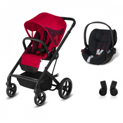 Poussette Cybex Balios S Lux - Fashion Ferrari Racing Red +