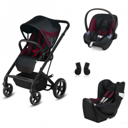 copy of Poussette Cybex Balios S Lux - Fashion Ferrari + Aton M
