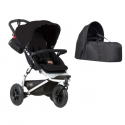 Poussette Mountain Buggy Swift + Nacelle Cocoon - Black