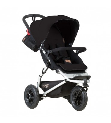 Mountain Buggy Swift + Coque Cybex Aton 5 - Black ,