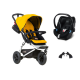 Mountain Buggy Swift + Coque Cybex Aton 5 - Gold , 3666168001760