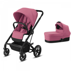 Pack Duo Cybex Balios S Lux - Châssis Black + Nacelle S -