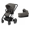 Pack Duo Cybex Balios S Lux - Châssis Black + Nacelle S - Soho