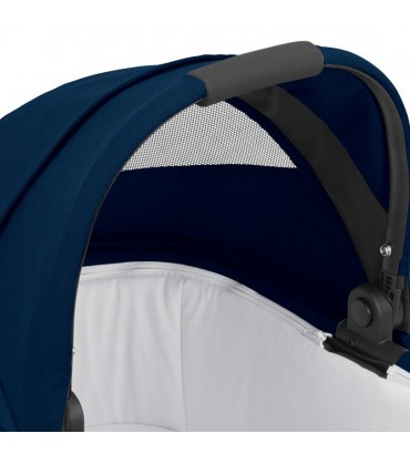 Pack Duo Cybex Balios S Lux - Châssis Black + Nacelle S - Navy