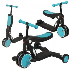Draisienne / Tricycle 5 en 1 Evolutive Looping Scootizz - Bleu