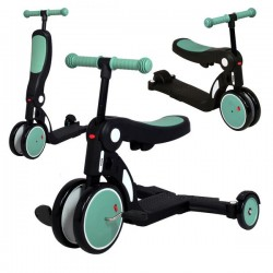Draisienne / Tricycle 5 en 1 Evolutive Looping Scootizz - Vert
