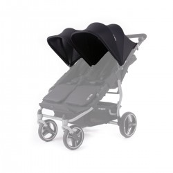 Canopys Réversibles Baby Monsters Easy Twin - Noir BMT3.0S-001,