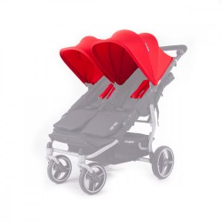 Canopys Réversibles Baby Monsters Easy Twin - Rouge