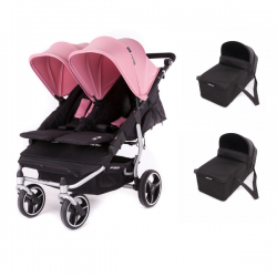 Poussette Double Baby Monsters Easy Twin 3S Light - Châssis