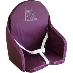 Coussin de Chaise Looping - Cassis BCCH+CAS, 3666168008325