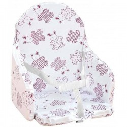 Coussin de Chaise Looping - Lapin Cassis BCCH+LAPCAS