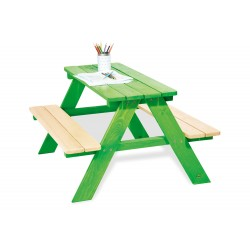 Ensemble Table-Bancs Pinolino Nicki - Vert 201623, 4035769029197