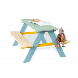 Ensemble Table-Bancs Pinolino Nicki - Multicolore 201616