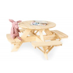 Ensemble de table et chaises Pinolino - Nicki für 4 rund -