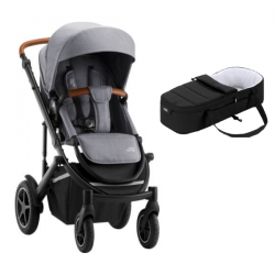 Poussette Britax Smile III - Frost Grey/Brown + Cocoon