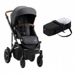 Poussette Britax Smile III - Midnight Grey + Cocoon