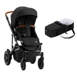 Poussette Britax Smile III - Space Black/Brown + Cocoon